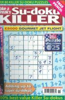 Take a Break Sudoku Killer magazine