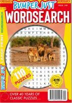 Bumper Just Wordsearch magazine