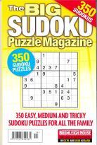Big Sudoku Puzzle magazine