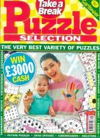 Take a Break Puzzle Selection magazine