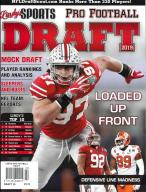 Lindy's Sports - Pro Football Draft magazine