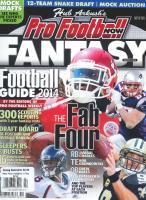 Pro Football Fantasy Football Guide magazine