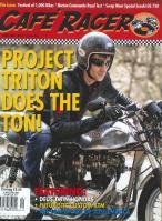 Cafe Racer Italian magazine