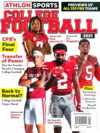 Athlon Sports College Football magazine