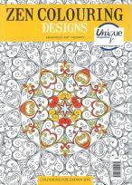 Zen Colouring Designs at Unique Magazines