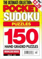 The Ultimate Collection Pocket Sudoku Puzzles magazine