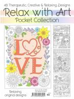 Relax With Art Pocket Collection magazine