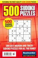 500 Sudoku Puzzles magazine