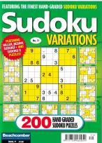 Sudoku Variations magazine
