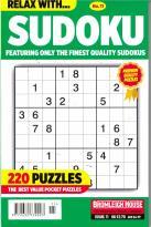 Relax With Sudoku magazine