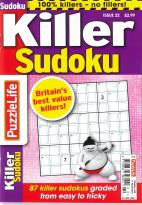 Puzzlelife Killer Sudoku magazine