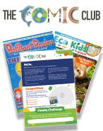 The Comic Club 01 magazine