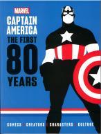 Captain America 80th Anniversary  magazine