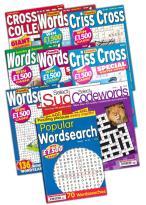 10 Back Issues Puzzle Magazines at Unique Magazines