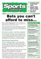 The Sport's Statistician magazine