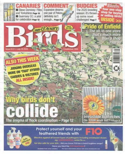 Cage and Aviary Birds magazine