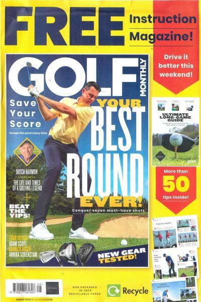 Golf Monthly magazine