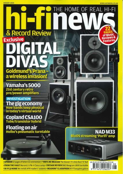 Hi-Fi News magazine