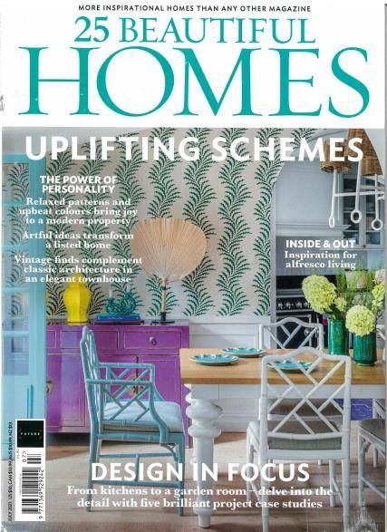 25 Beautiful Homes magazine