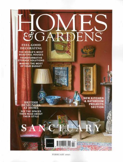 Homes and Gardens magazine