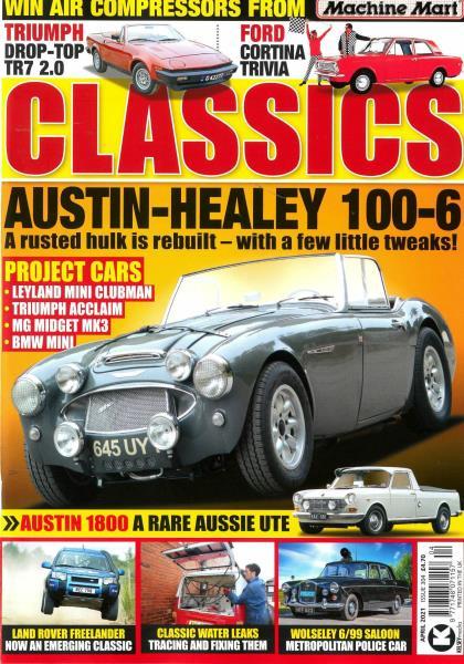 Classics Monthly magazine