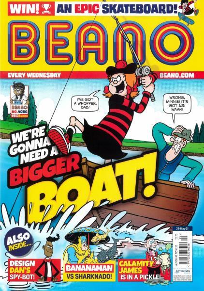 Beano magazine