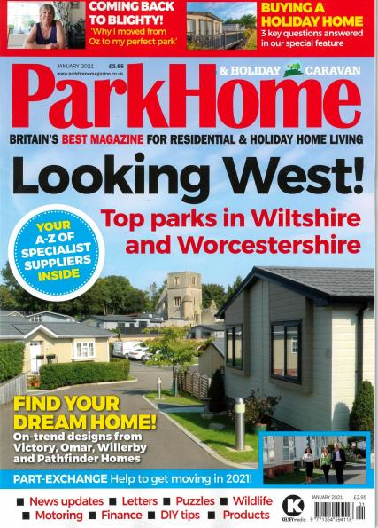 Park Homes & Holiday Caravan magazine
