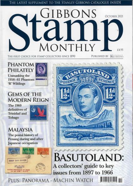 Gibbons Stamp Monthly magazine