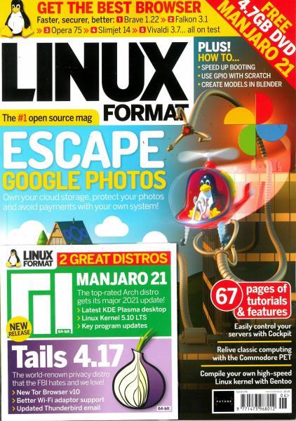 Linux Format magazine