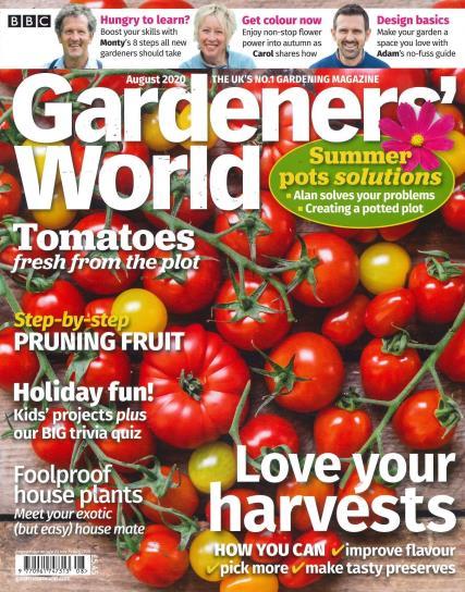 BBC Gardeners World magazine