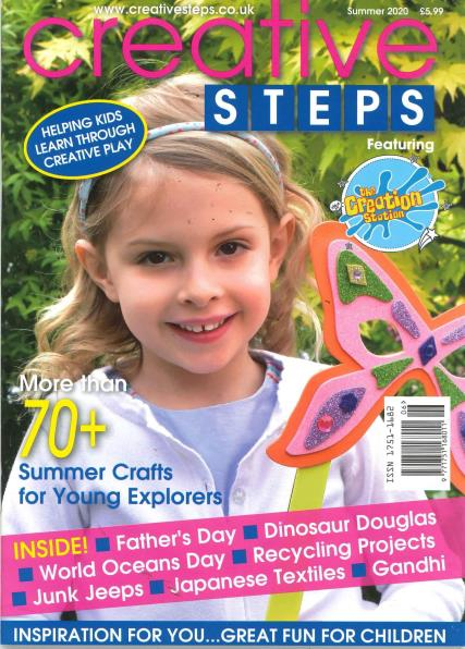 Creative Steps magazine