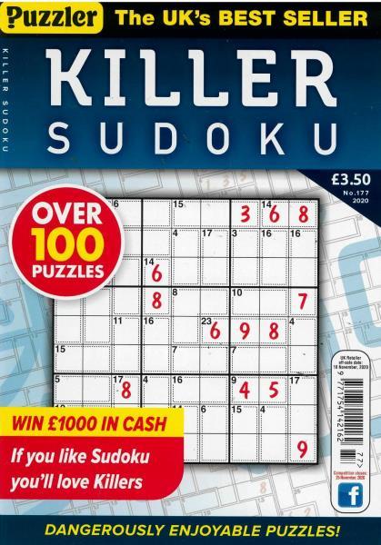 Killer Sudoku magazine