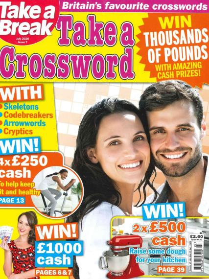 Take a Crossword magazine