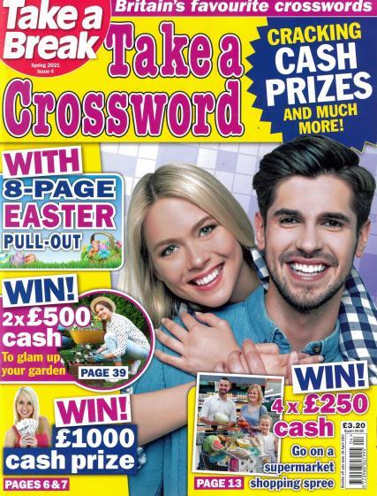 Take a Crossword magazine