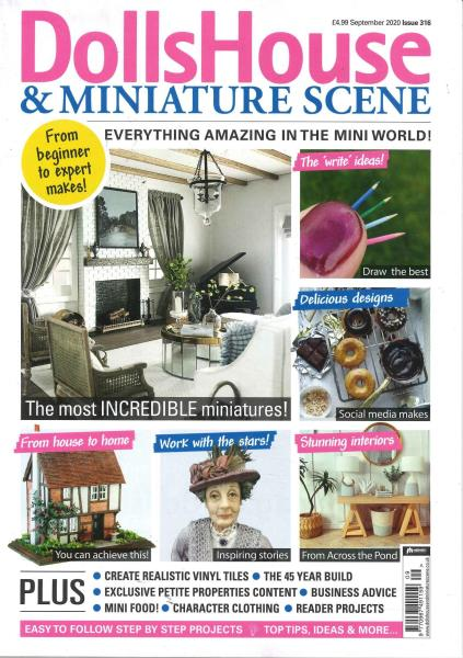 Dolls House and Miniature Scene magazine