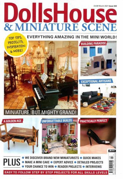 Dolls House and Miniature Scene magazine