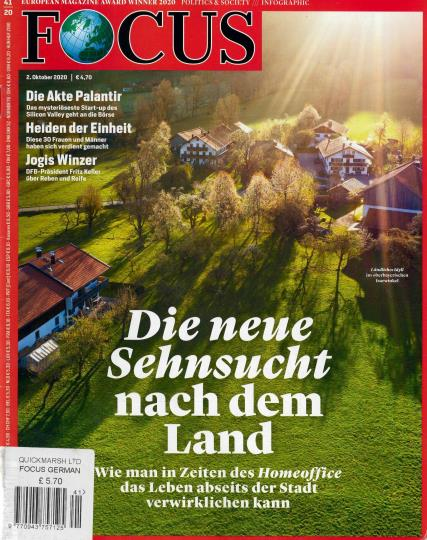 Focus German magazine
