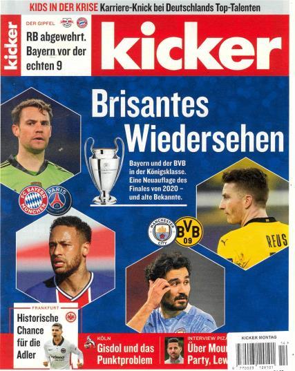 Kicker Montag magazine