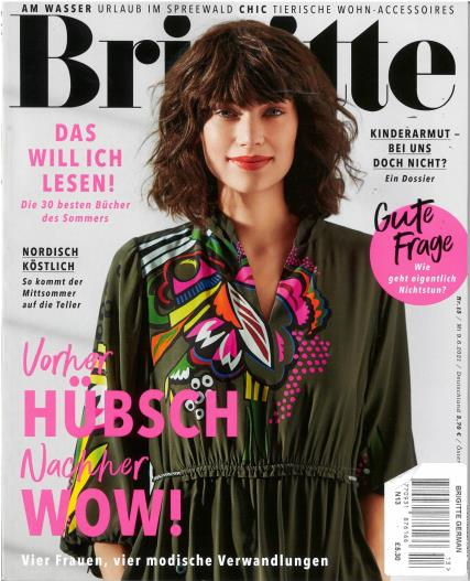Brigitte magazine
