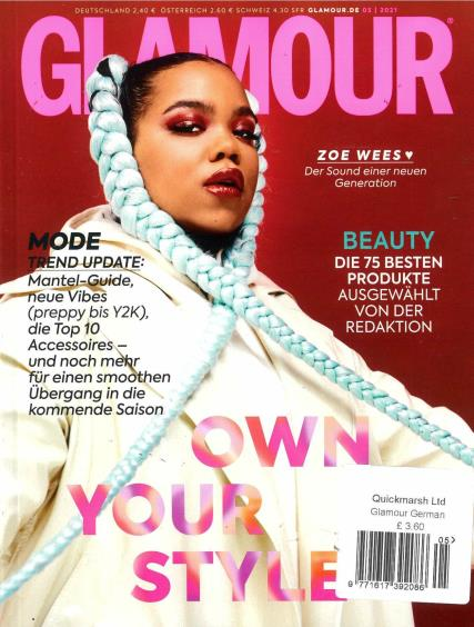 Glamour German magazine