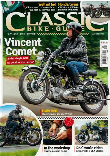 Classic Bike Guide magazine
