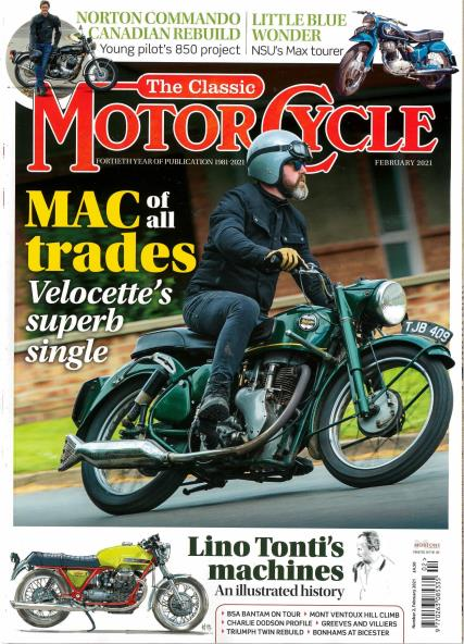 The Classic Motorcycle magazine