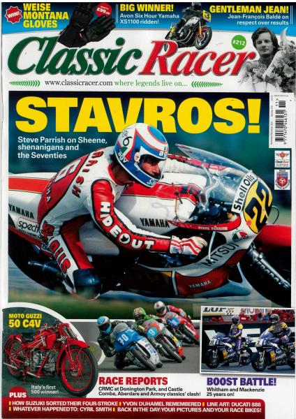 Classic Racer magazine