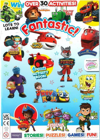 Fantastic Funworld magazine