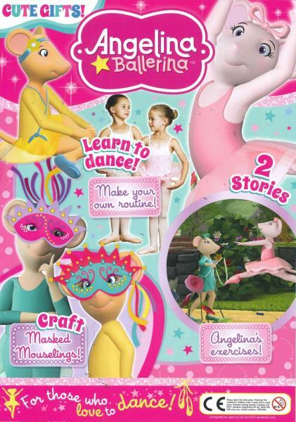 Angelina Ballerina magazine