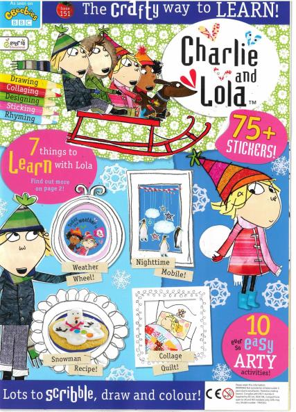Charlie and Lola magazine