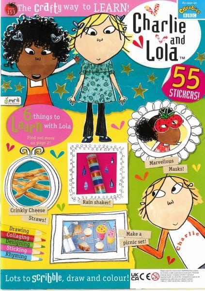Charlie and Lola magazine