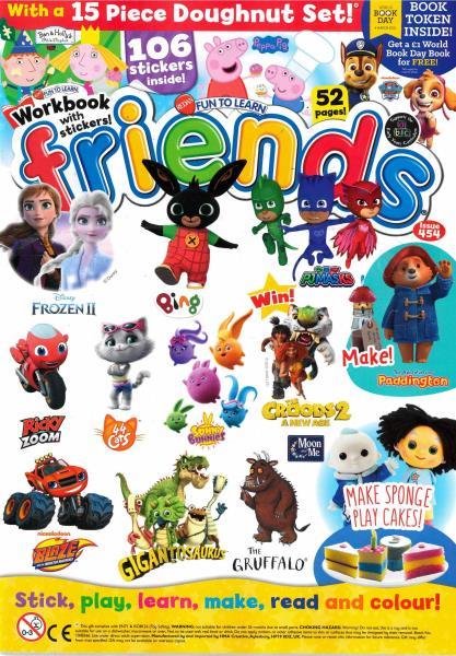 Fun To Learn - Friends magazine