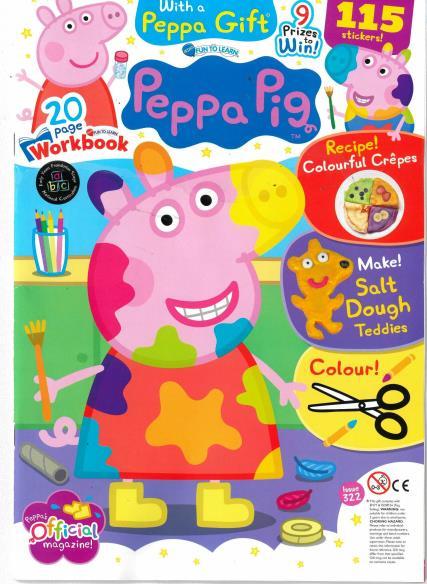 Fun to Learn - Peppa Pig magazine