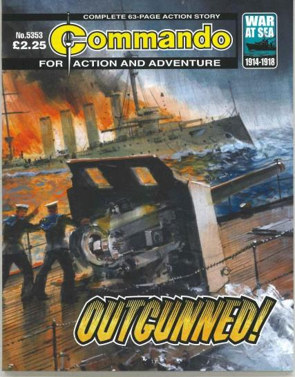 Commando Action Adventure magazine